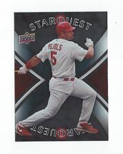 2008 Upper Deck Star Quest #16 Albert Pujols Cardinals