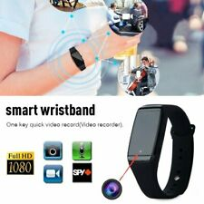 1080P Smart Bracelet Sport Watch Hidden Cameras HD Mini Video Recorder Spy Cam