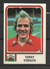 Decal/Sticker - Panini Argentina 1978 Terry Yorath No.398