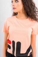 Fila Women's Early Cropped Tee New Salmon 2019 Athleisure Active Wear 684490-030