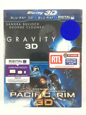 Gravity 3D + Pacific Rim 3D Coffret Blu Ray Neuf
