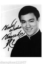 Bruce Lee ++Autogramm++ ++Film Legende++