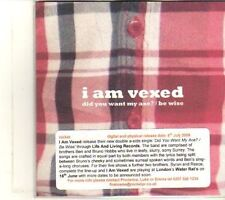 (DT541) I Am Vexed, Did You Want My Axe? / Be Wise - 2009 DJ CD