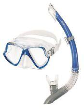 Mares Zephir Schnorchelset Blau Tauchermaske + Schnorchel Urlaubsset