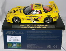 Fly A123 Corvette C5r 1 24h Daytona 2001 #2 MINT Boxed