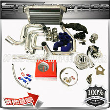 T3/T4 Turbo Kits Manifold + Intercooler Piping Kits 06-10 Mazda 3 2.3L 2.0L 12PC