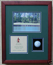 Hole In One Golf Trophy    Shadow Box For Golf Ball