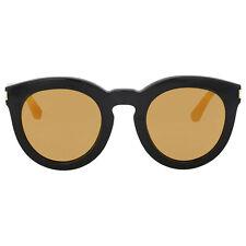 Yves Saint Laurent Yellow Lenses Round Sunglasses
