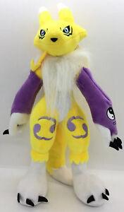 "Digimon Renamon Digital Monsters 12""Inch Brand New High Quality Plush USA Seller"