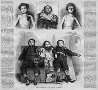 POST MORTEM PANTIN TRAGEDY MURDER HORRID BUTCHERY CHILDREN VICTIMS 1869 HISTORY