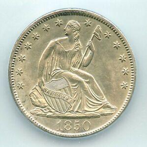 1850-O Liberty Seated Half Dollar, ICG MS63