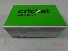Alcatel Tetra Cricket Prepaid 4G LTE 16GB Black Android Smartphone NEW  C10