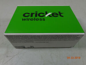 Alcatel Tetra Cricket Prepaid 4G LTE 16GB Black Android Smartphone NEW  C10
