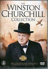 THE WINSTON CHURCHILL COLLECTION - 3 DVD BOX SET - GALLIPOLI & MORE