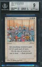 Arabian Nights Army of Allah BGS 9 Graded Magic MTG (2995)