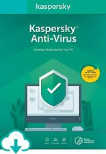 Kaspersky ANTI-VIRUS Security 2020 1 PC 1 YEAR ANTIVIRUS / GLOBAL KEY