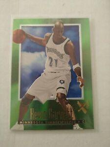 1996-97 EX2000 KEVIN GARNETT #40 NBA MINNESOTA TIMBERWOLVES 🏀