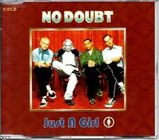NO DOUBT - JUST A GIRL - 4 TRACK CD SINGLE 2 - MINT