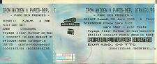 RARE / TICKET CONCERT - IRON MAIDEN LIVE TO PARIS PARC DES PRINCES 25 JUIN 2005