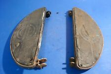 harley davidson  panhead knucklehead flathead wla original floor boards oem