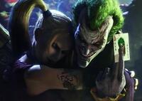 JOKER & HARLEY QUINN Arkham Suicide Squad Batman Art Print Photo Poster A3 A4