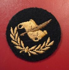 Canadian Armed Forces PAY WRITER qualification trade patch badge level 2 black