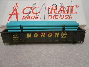 Accurail Monon 41' Steel Gondola With Pipe Load in Box HO #130