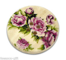 30 Flower 4 Holes Wood Sewing Buttons 30mm B12427
