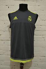 3082 ADIDAS REAL MADRID MAGLIA ALLENAMENTO SMANICATA TRAINING JERSEY TOP S88962