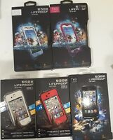 Authentic New LIFEPROOF Fre WATERPROOF CASE IPHONE 4 4S 5 5S SE & SAMSUNG S4