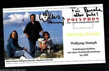 Wolfgang Stumph TOP AK Orig. Sign. u.a. Go Trabi Go + G 6509
