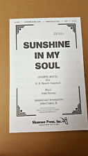 Lot of 10 Sunshine in My Soul 1972 SSA Choral Octavo