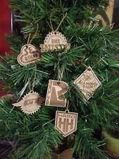 BMX Bike Mid Old School Engraved Christmas Tree Ornaments GT SE Diamondback Haro