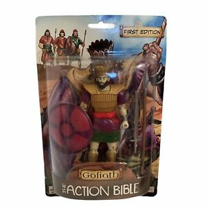 First Edition The Action Bible Goliath Action Figure 2012 Figurine New Sealed