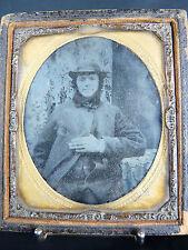 Photographie ancienne sur plaque de verre .Regionalisme ANTIQUE PHOTOGRAPHY