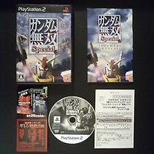 GUNDAM MUSOU SPECIAL PlayStation 2 NTSC JAPAN・❀・SHOOTER DYNASTY WARRIORS PS ガンダム