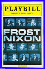 Playbill + Frost Nixon + Frank Langella , Michael Sheen , Remy Auberjonois