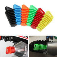 Rubber stopper Mute Motorbike  Wash Plug  Silencer Motorcycle Exhaust Muffler