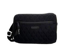 New Vera Bradley Belt Bag in Microfiber black R$89