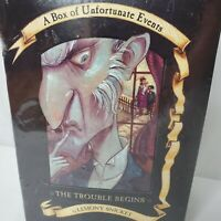 A Series of Unfortunate Events Box Set Books  1-3 Lemony Snicket 2001 New