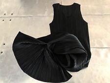 ISSEY MIYAKE pleats please Black dress , Issey Miyake Geometric Dress Size 1