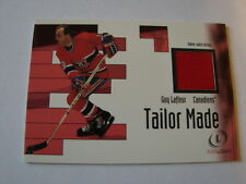 2002-03 Fleer Legacy Tailor Made Guy Lafleur Jersey Card Canadiens (B23)