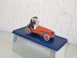 Tintin 1:43, The Cigars Of Pharaoh, La Car Race With The Dupont/D, atlas