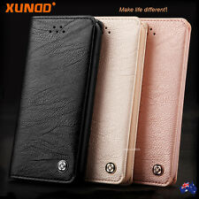 Genuine XUNDD NEW Leather Wallet Card Holder Case Cover for iPhone X 8 7 6s SE