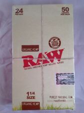 Free Gifts🎁If U Buy Raw Unrefined Organic 1.25 1 1/4 Size Rolling Paper Full📦