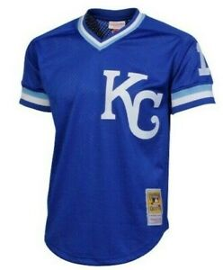 Authentic Mitchell & Ness KC Royals #16 Baseball Jersey New Mens Sizes $90