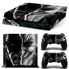 Joker Batman Skin Sticker Cover For PS4 Playstation 4 Console Controller Decal