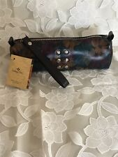 New ListingPatricia Nash Peruvian Painting Leather Isla Oblong Wristlet Bag, Nwt