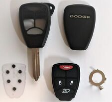 X2 DODGE 4 Button Remote Head Key Shell Case OHT M3N Top Quality USA Seller