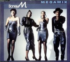 Boney M. Megamix (Ext./Edited, 1988, plus 'Rasputin') [Maxi-CD]